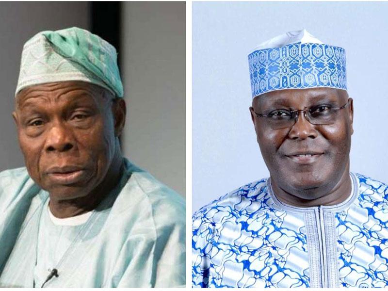 3d24f438 obasanjo and atiku - #2019PresidentialElection: Atiku pays courtesy visit at Obasanjo's residence