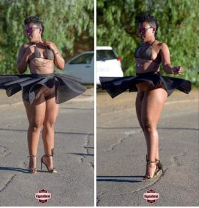 5c7b9c8948c60 - South African pantless dancer Zodwa Wabantu exposes her vagina in racy new images