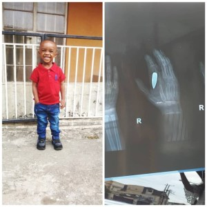 5c822aa3e026d - Uche Novia Reveals How He Found Out His Son Had Been Hit By A Bullet 28 days after
