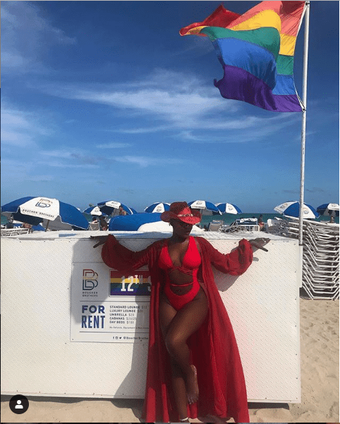 5c865fb22c708 - [Photos]: Charly Boy's gay daughter flaunts her backside in sexy bikini