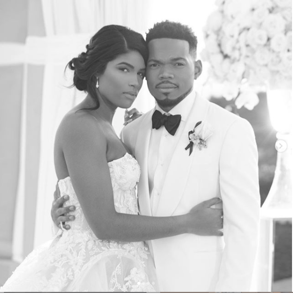 5c866dffbb463 - So beautiful! Chance The Rapper shares more stunning photos from his wedding