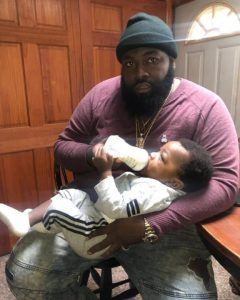 5c8a0406246bf - These photos of Davido's hypeman Special Spesh and his son are just too adorable