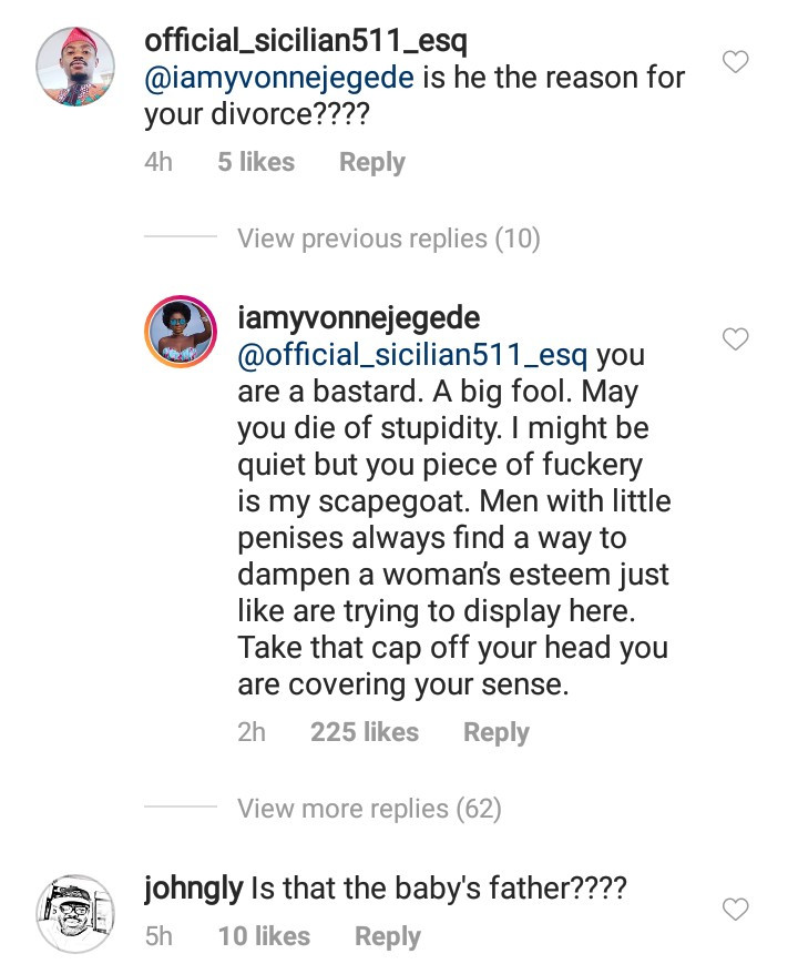 5c94c94bc4711 - Yvonne Jegede drags troll who called Mawui Gavor her son's biological father