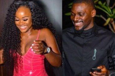 [Photos]: Tobi and Cee-C spotted at a party together