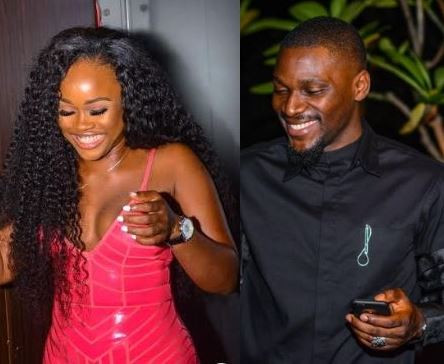 5c9763d6000a5 - [Photos]: Tobi and Cee-C spotted at a party together
