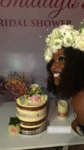 6 169x300 - [Photos]: See photos from Mo Abudu's Daughter's Bridal Shower