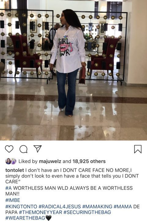Tonto slams ex-husband