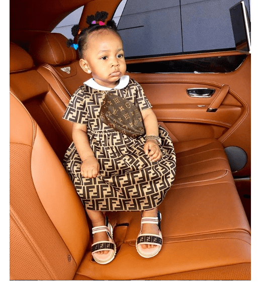 Capture 22 - Mompha pens sweet birthday message for daughter as she turns a year older (photo)