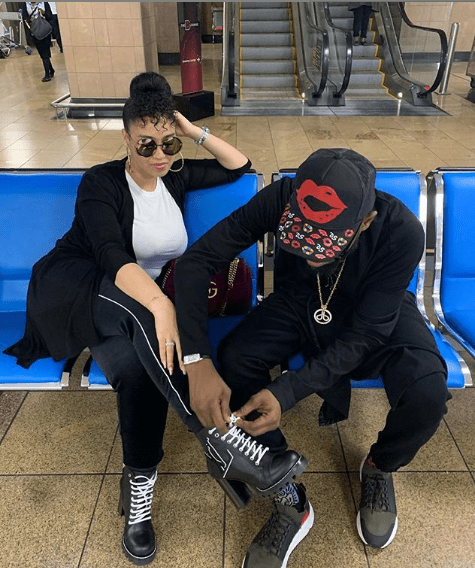 Capture 93 - D'banj celebrates his wife as she turns a year older