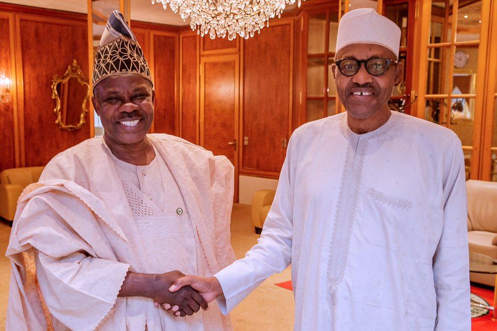 D0viNfQW0AAVw6o - Suspended Governor visits President Buhari