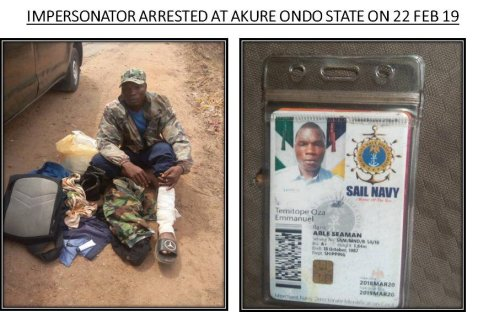 D1TdGAHWkAAUpWn - See pictures of fake military officers on parade during elections