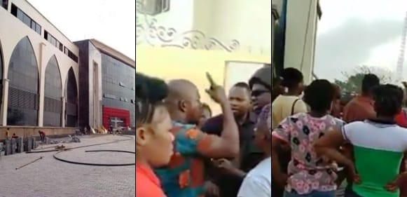 Duna - [Alleged]: Drama At Dunamis Church As Traders Revolt over burnt Goods