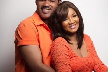 Omotola Jalade-Ekeinde and husband Captain Ekeinde celebrate their 23rd wedding anniversary
