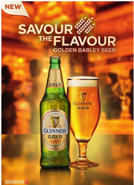 Guinness Gold Image 1 1 - CELEBRATE LIFE'S GOLDEN MOMENTS WITH GUINNESS GOLD FROM THE HOUSE OF GUINNESS