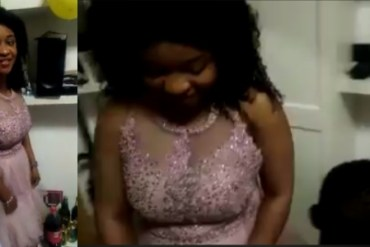 [Heart Breaking Video]: Lady Rejects Man Who Proposed To Her At Her Birthday Party