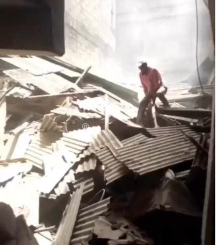 Lagos house1 - Four Rescued From Another Lagos Building Collapse