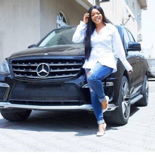 Laura Ikeji Says She Wants Google To Be Filled With Positive News About Her Achievements As She Flaunts Her Mercedes Benz