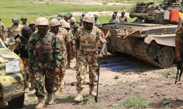 Nigerian army2 - Supplementary Elections: Army Extends 'Show Of Force' To Six Lgs In Sokoto