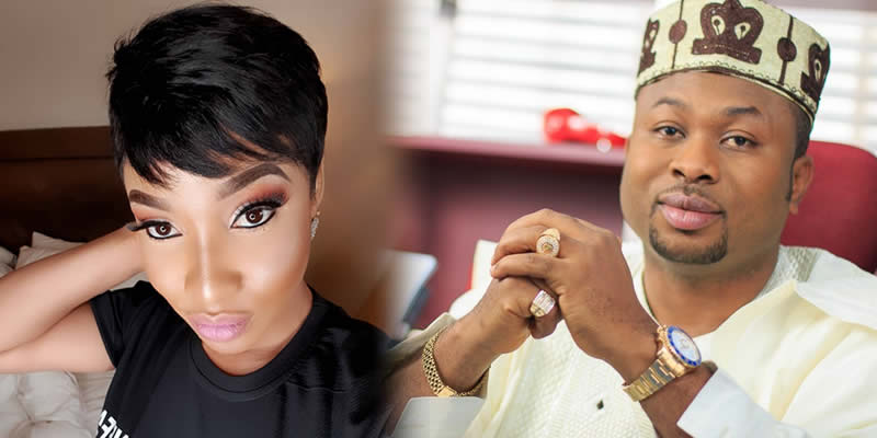 Olkunle Tonto - Tonto Dikeh Reveals She Will Keep Disgracing Her Ex-Husband, Olakunle Churchill