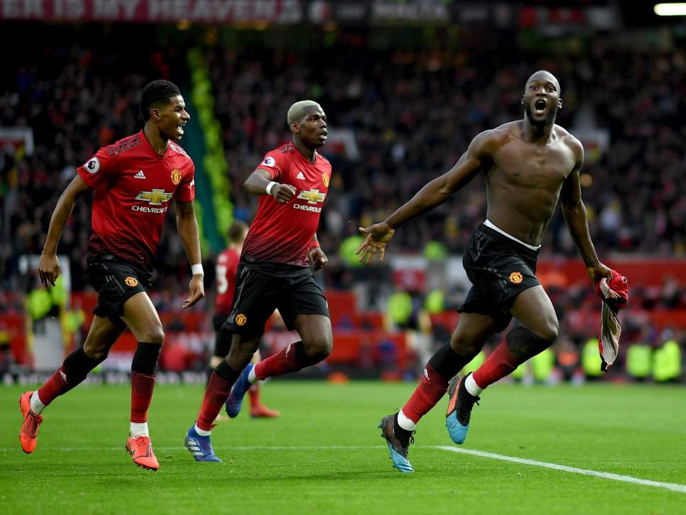 Romelu Lukaku - Andreas Pereira and Romelu Lukaku strikes asManchester Unitedbeat Southampton