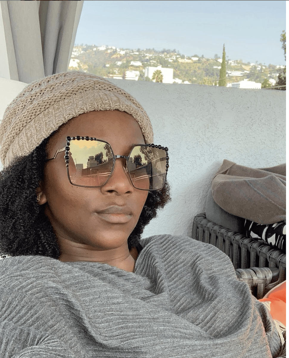 Screen Shot 2019 03 02 at 5.59.51 PM - This makeup-free photo of Genevieve Nnaji is a MUST see