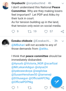 Screenshot 20190301 1743182 - 'Why Won't They Allow Lawyers Shine' – Nigerians React To Peace Committee Meeting With Buhari