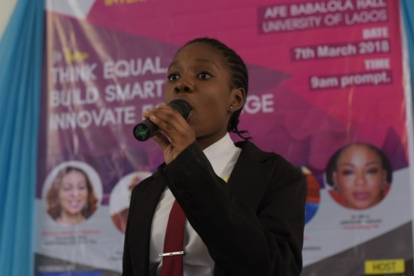 TECNOxIWD - #BALANCEFORBETTER: TECNO MOBILE CELEBRATES INTERNATIONAL WOMEN'S DAY WITH STUDENTS