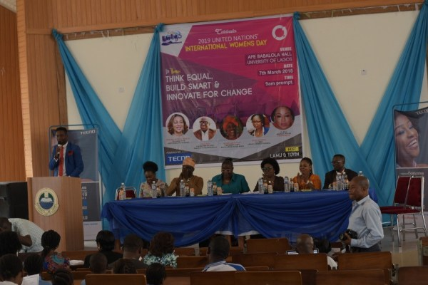 TECNOxIWD4 - #BALANCEFORBETTER: TECNO MOBILE CELEBRATES INTERNATIONAL WOMEN'S DAY WITH STUDENTS