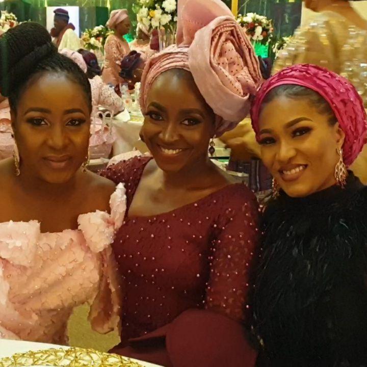 Temidayo Ted Abudu Adebola Makanjuola Traditional Engagement AsoebiBella BellaNaija 23 - [Beautiful Photos]: Asoebi Guests At Media Mogul, Mo Abudu's Daughter's Wedding