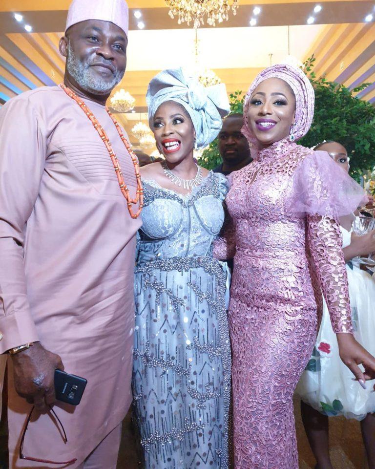 Temidayo Ted Abudu Adebola Makanjuola Traditional Engagement AsoebiBella BellaNaija 30 768x960 - [Beautiful Photos]: Asoebi Guests At Media Mogul, Mo Abudu's Daughter's Wedding