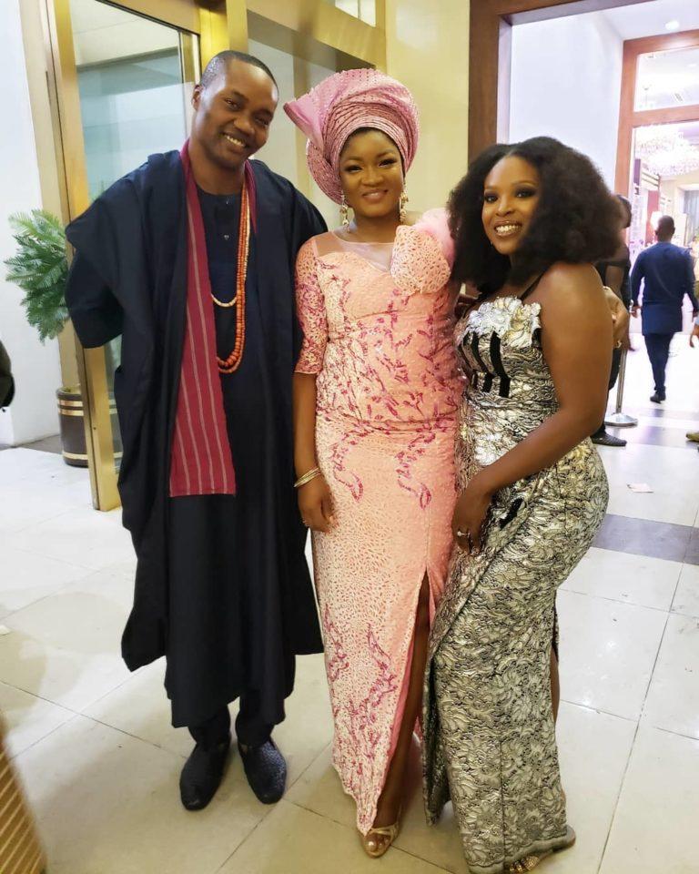 Temidayo Ted Abudu Adebola Makanjuola Traditional Engagement AsoebiBella BellaNaija 37 768x960 - [Beautiful Photos]: Asoebi Guests At Media Mogul, Mo Abudu's Daughter's Wedding