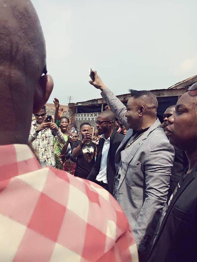 bado 3 39 672x896 - Nigerian Pastor Shows Off His Third Hummer Limousine – Watch
