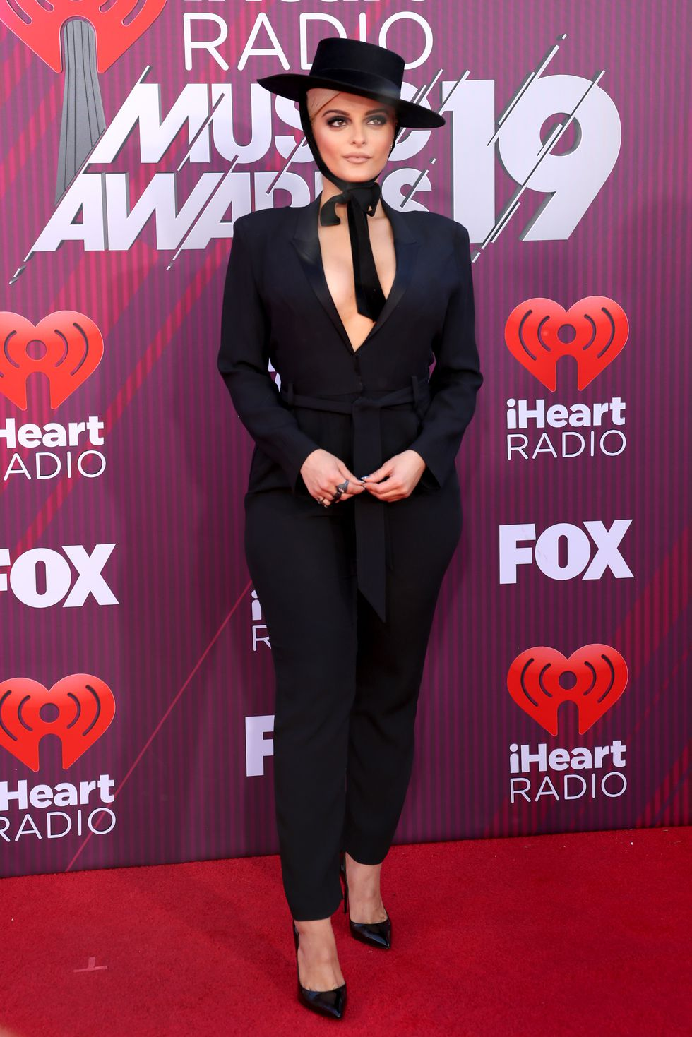 bebe rexha attends the 2019 iheartradio music awards which news photo 1135849685 1552606416 - See all the red carpet looks from the 2019 iHeartRadio Awards