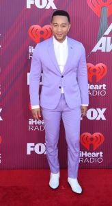 john legend arrives at the 2019 iheartradio music awards news photo 1130566431 1552608890 - See all the red carpet looks from the 2019 iHeartRadio Awards