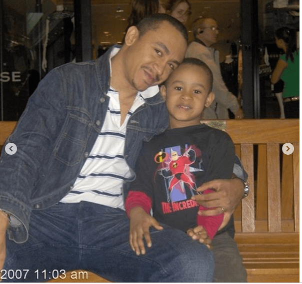 Daddy Freeze cerebrates son