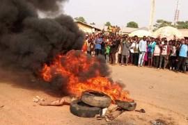 Suspected Criminal Sets Ablaze In Kwara