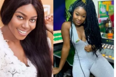 Yvonne Nelson schools actress Efia Odo about God