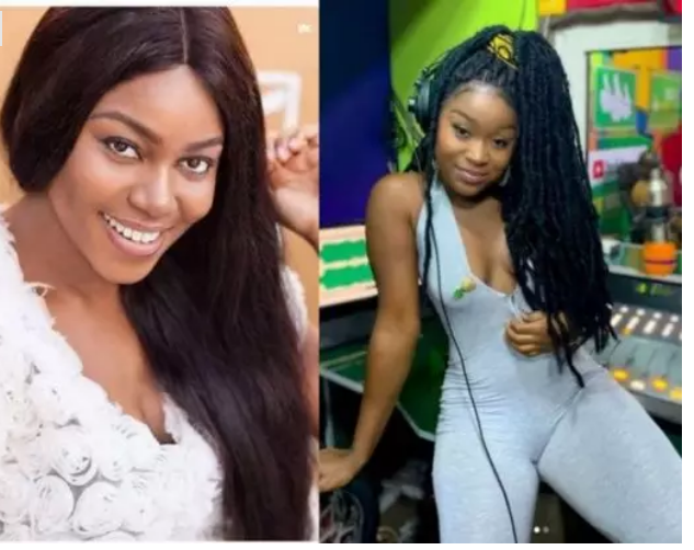p 2 - Yvonne Nelson schools actress Efia Odo about God