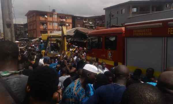 sc - #LagosBuildingCollapse Update: Name of school and number of casualties