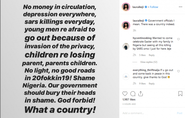 1 40 - You won't believe what Laura Ikeji just said about the government