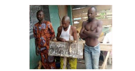 1 75 - [Photo]: Church nabs bricklayer, accomplice who stole human parts from church cemetery