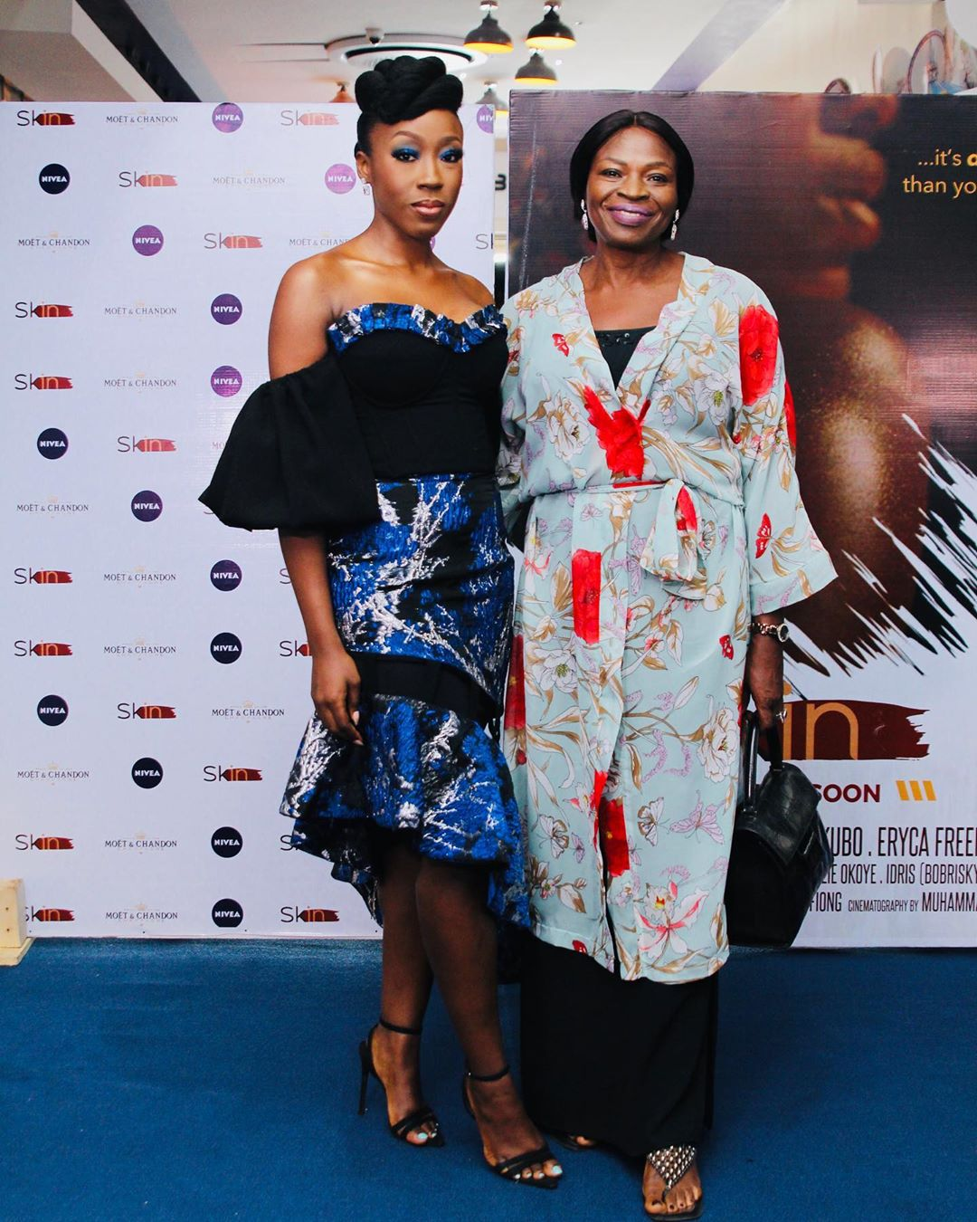 "1 - Omotola Jalade-Ekeinde, Mo Abudu, others spotted at the Premiere of Beverly Naya's Documentary ""Skin"""