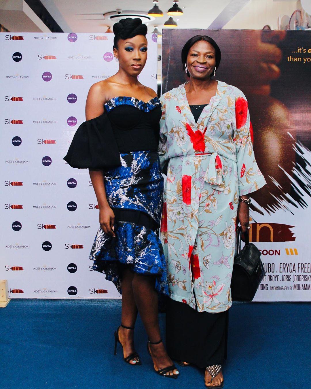 """1 - Omotola Jalade-Ekeinde, Mo Abudu, others spotted at the Premiere of Beverly Naya's Documentary """"Skin"""""""