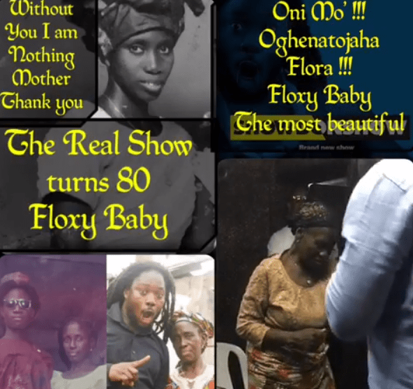 1 - [Video]: Daddy Showkey celebrates his mom as she turns 80
