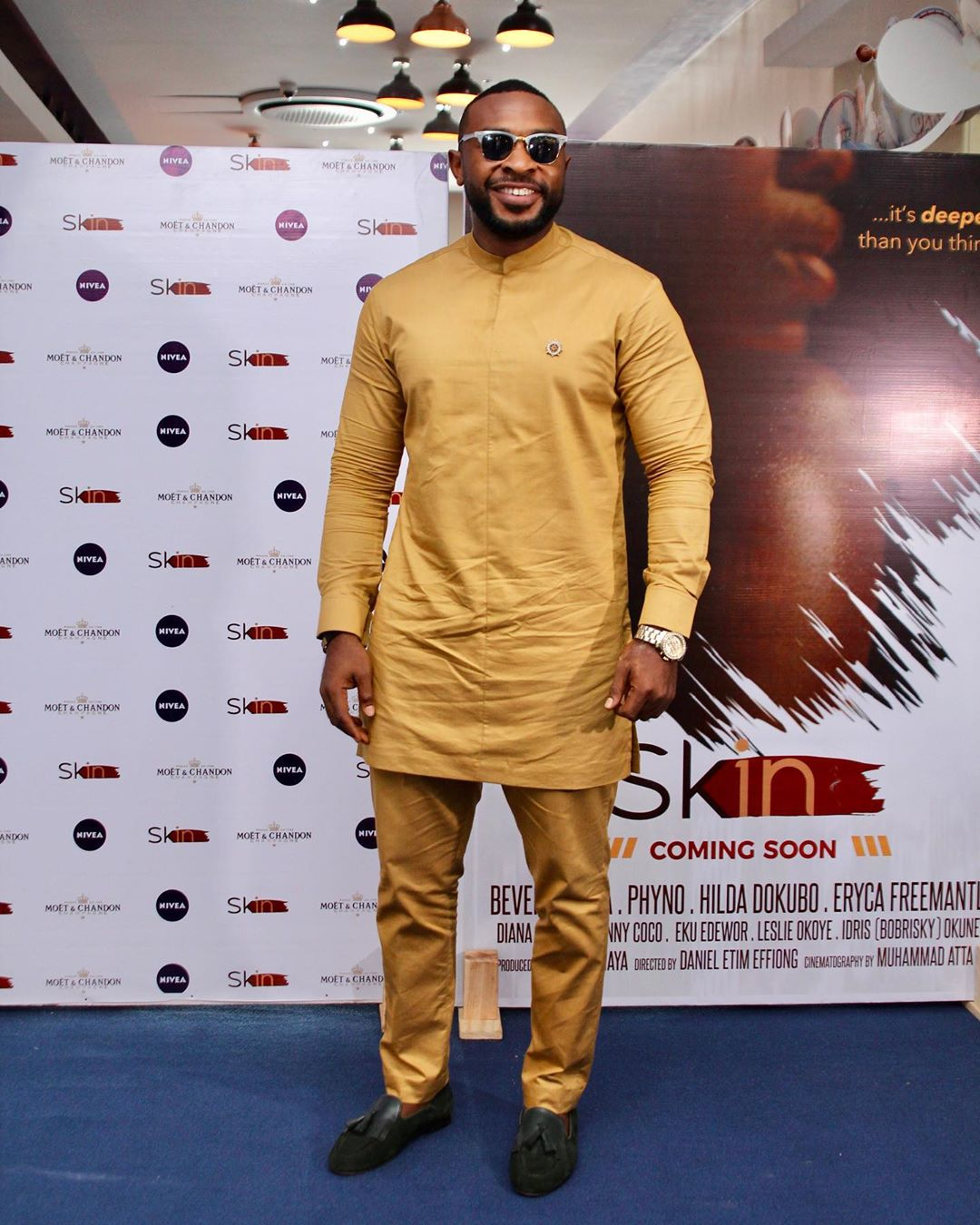 "10 - Omotola Jalade-Ekeinde, Mo Abudu, others spotted at the Premiere of Beverly Naya's Documentary ""Skin"""