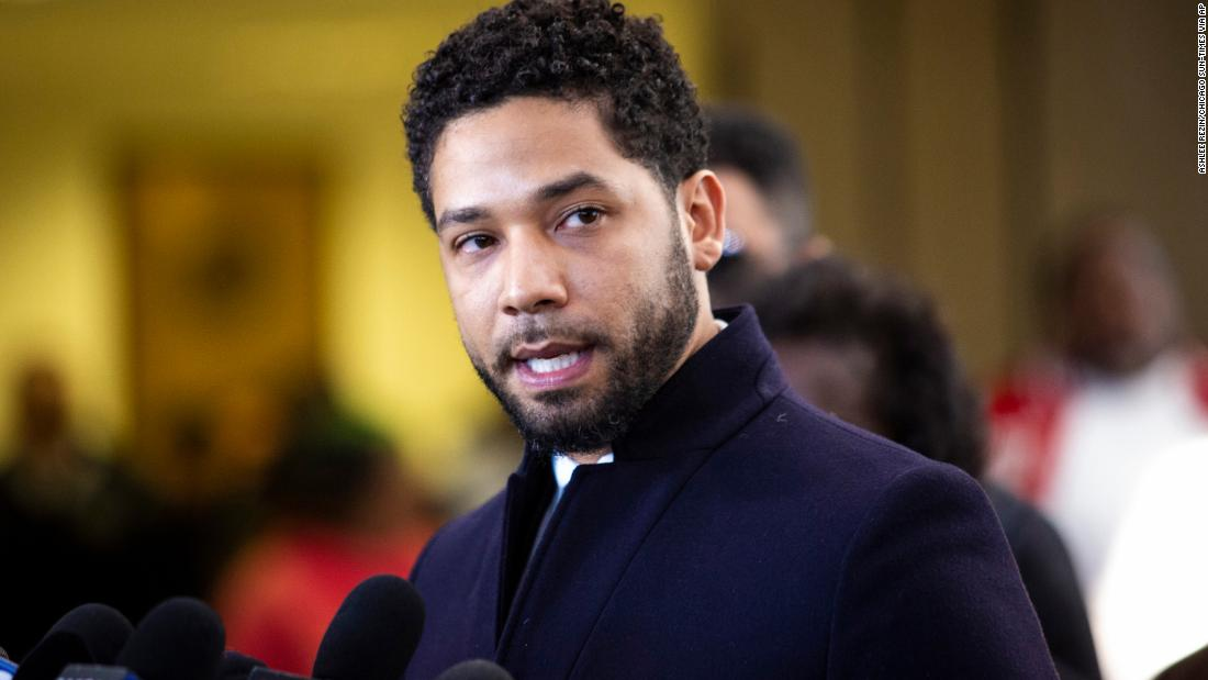 190326133907 02 jussie smollett presser 0326 super 169 - City of Chicago sues Empire actor Jussie Smollett