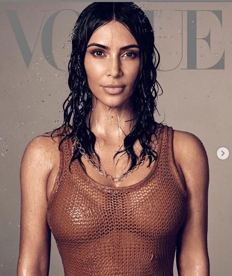 2 14 - [Photos]: Kim Kardashian lands Vogue magazine cover