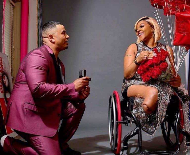 2 6 - Tears As Man Proposes To His Physically Challenged Girlfriend Of 17 Years