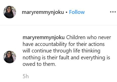 2 7 - 'Bad parenting results in a**holes' – Mary Remmy Njoku