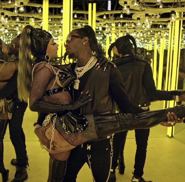 2 - Unbelievable!!! Checkout the jaw-dropping photos from Offset and Cardi B's new video